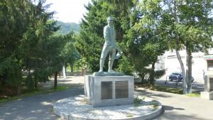 山鼻屯田兵の像(山鼻日の出公園)