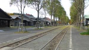 馬車鉄道線路