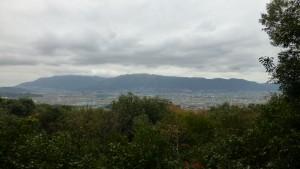 畝傍山山頂からの眺め