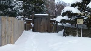 日本庭園入口