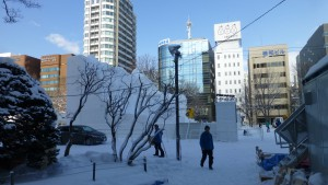 【大雪像】 2016年3月26日開業!北海道新幹線(8丁目)