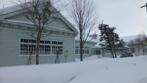 旧北海中学校