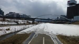 豊平川水管橋