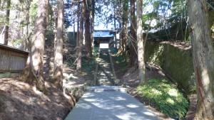 安楽寺 山門