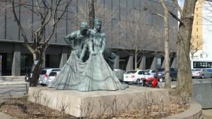 7丁目漁民の像