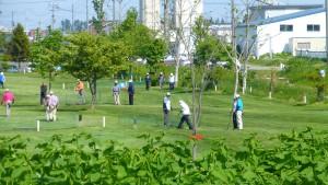 東屯田川遊水地パークゴルフ場