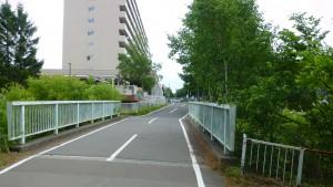 高台橋と大谷地バスターミナル