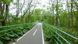 上野幌自転車道橋