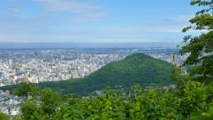 円山方向を望む