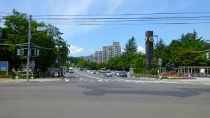 地下鉄真駒内駅前