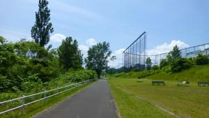 豊平川緑地(遊歩道)
