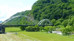 硬石山水管橋