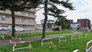 北白石サイクリングロード