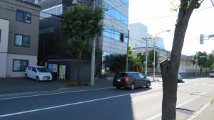 平和通6丁目交差点(鈴木レンガ工場跡)