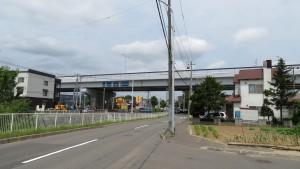 道央道高架橋