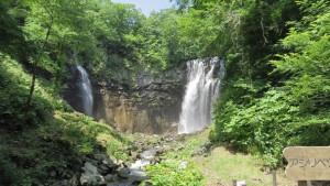 アシリベツの滝