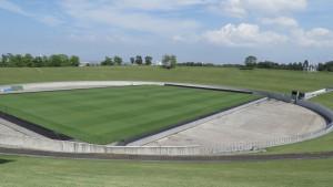 オープンアリーナとサッカーステージ