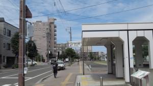 地下鉄豊平公園駅