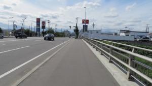 厚幌橋と厚別通