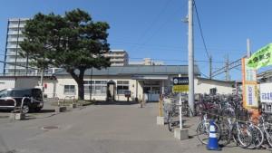 JR篠路駅