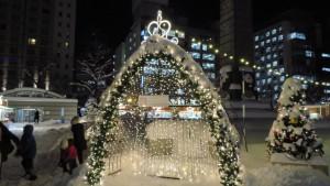 大通5丁目会場「クリスマスガーデンカフェ」