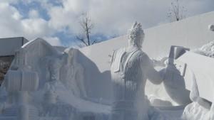 大雪像「決戦!雪のファイナルファンタジー」