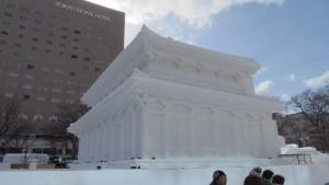大雪像「奈良・興福寺 中金堂」