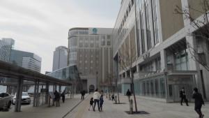 札幌駅前広場(南口)