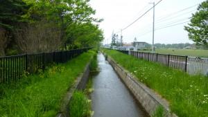 下流排水路