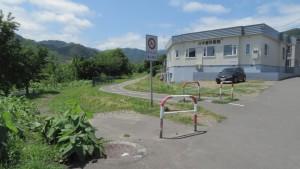 真駒内茨戸東雁来自転車道路入口