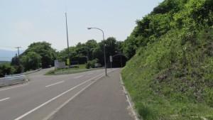 八剣山トンネル入口