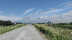 中沼浄水場水管橋