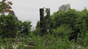 野外彫刻「風景の夢/小田嚢」