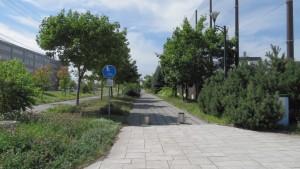 屯田循環緑道入口