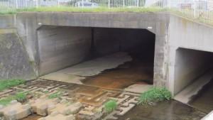 琴似川の暗渠部入口