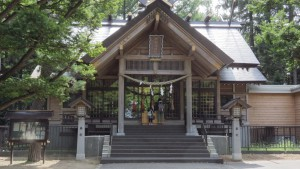 大谷地神社本殿