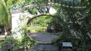 くぐり門(中国庭園)