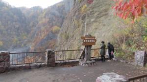 豊平峡ダム展望台