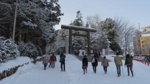 北海道神宮第二鳥居