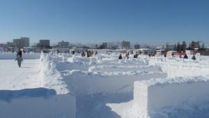 雪だるま迷宮ワンダーランド