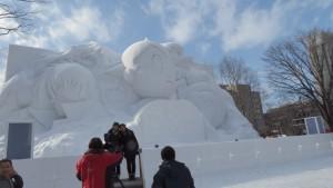大雪像「手塚治虫 生誕90周年記念 オールスターズ」