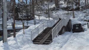 階段(市道旭ケ丘歩道線)