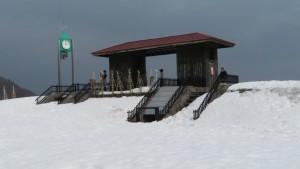 時計塔と展望台