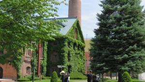 開拓使館と煙突