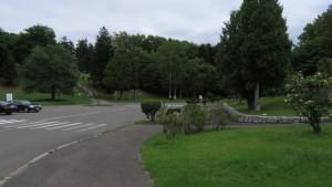 平岸霊園入口