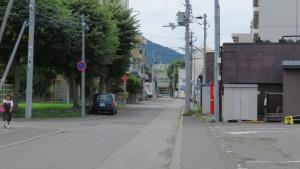 アンパン道路の終点