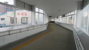 JR厚別駅自由通路