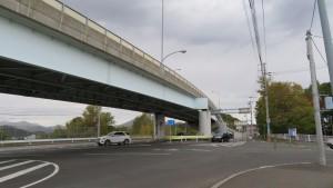石山高架橋(石山陸橋)