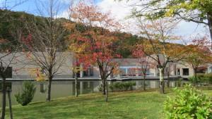 札幌芸術の森美術館と紅葉