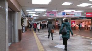 大通地下歩道(オーロラタウン)